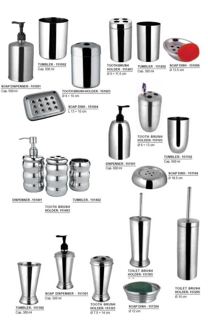 SHREEJI INTERNATIONAL - Bathroom accessories, soap dispenser
